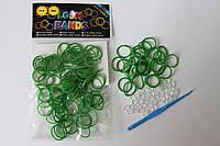 100 штук зеленых резиночек