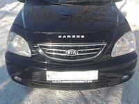 Дефлектор капота (мухобойка) KIA Carens с 2002–2006 г.в.