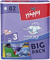 Детские подгузники Happy bella 3 ка. 72шт BIG PACK