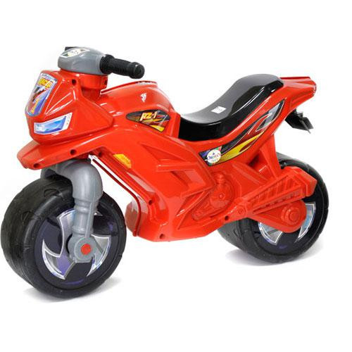 Мотоцикл-беговел 2-х колесний красный Орион 501***