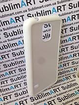 Чехол для 2D сублимации резиновый (TPU) на Samsung Galaxy S5 белый, фото 3