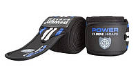 Локтевые бинты Power System Elbow Wraps PS-3600 Blue-Black R145361