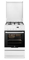 Газовая плита Electrolux EKK 54500 0W (60 см,электрическая духовка,белый)
