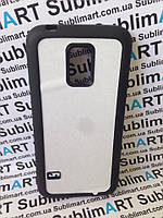 Чехол для 2D сублимации резиновый (TPU) на Samsung Galaxy S5 mini черный