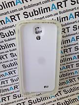 Чехол для 2D сублимации резиновый (TPU) на Samsung Galaxy S4 прозрачный, фото 3