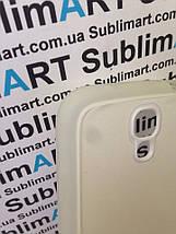 Чехол для 2D сублимации резиновый (TPU) на Samsung Galaxy S4 прозрачный, фото 2