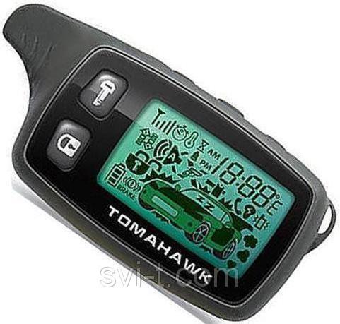 Брелок для автосигнализации TomahawkTW-9010