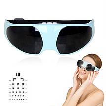 Массажер для глаз HealthyEyes от морщин мешков под глазами вибромассажер, фото 3