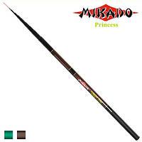 """Удочка безколечная """"Джокер Mikado"""" длина 3,6м, стекловолокно, 8к, разные цвета, удочки, удилище, спиннинг"""