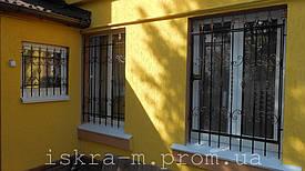 Решетки кованые на окна (г. Киев) 3