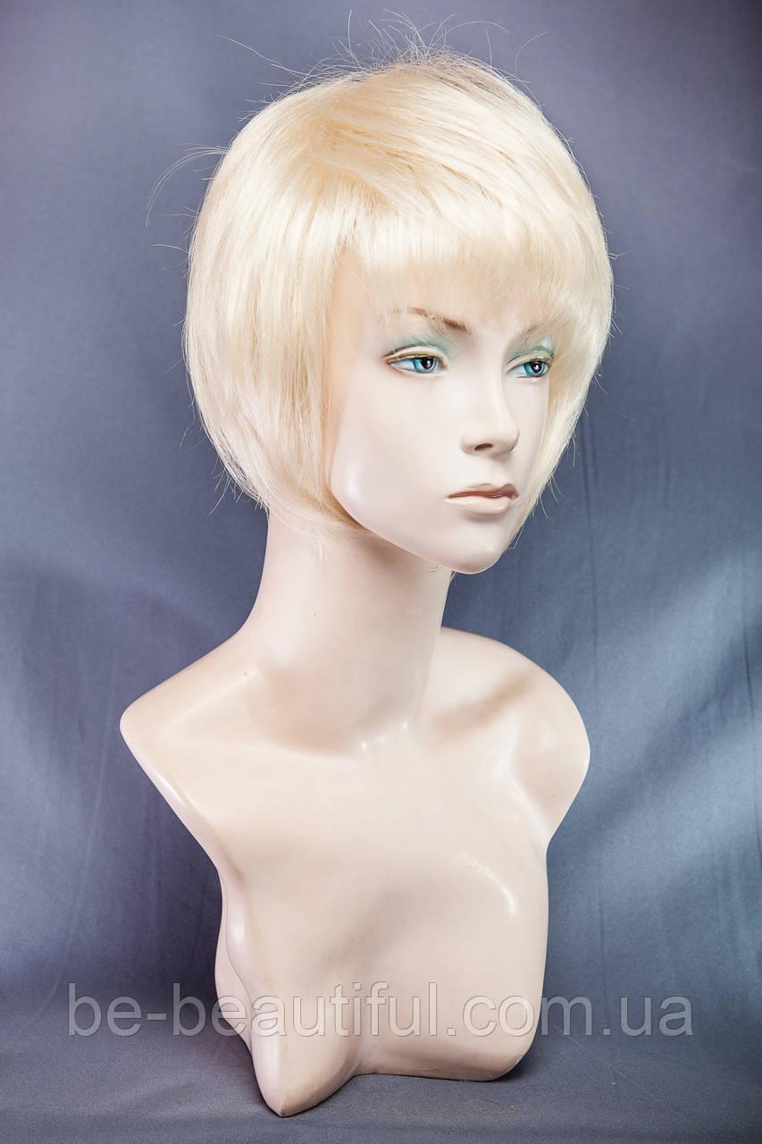 Парик каре №9,цвет классический блонд