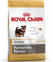 Royal Canin YORKSHIRE TERRIER Junior - корм для щенков йоркширского терьера 7.5кг.