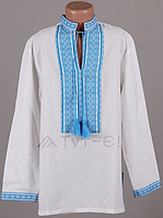 Рубашка подростковая2 (нашивка лен)  (О.Л.С)