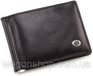 Мужской кожаный зажим для купюр ST Leather