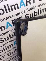 Чехол для 2D сублимации пластиковый на Sony Xperia Z4 черный, фото 2