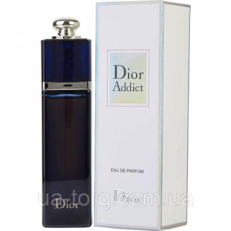 Женская парфюмированная вода Dior Addict Упковка примята