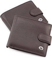Кожаный мужской кошелек с зажимом ST Leather
