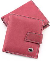 Женский маленький кошелек на кнопке ST Leather