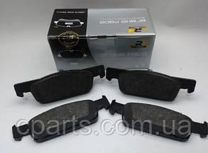 Колодки тормозные передние (вент. диск) Renault Logan 2 (Road House RH 21540.00)(среднее качество)