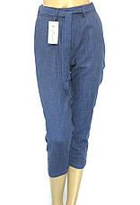 Жіночі літні штани на резинці з високою талією, фото 3