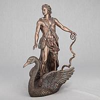 Статуэтка Veronese Аполлон, плывущий на лебеде 37 см 72874 A4, символ гармонии