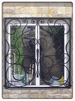 Кованные, сварные решетки на окна