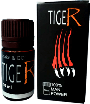 Tiger - Капли для потенции (Тигер)  - купить со скидкой