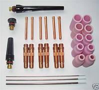 Комплектующие и расходные материалы к сварочным mig/mag и wig/tig горелкам