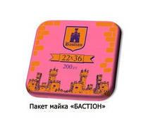 """Пакет Майка 22х36 """"Bastion"""" 3кг (200шт.) 50уп / меш"""
