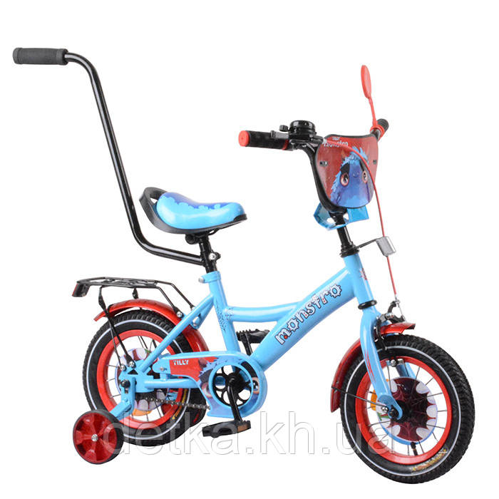 "Велосипед TILLY Monstro 12"" T-21228 blue + red"