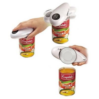 Электрический консервный нож Ван Тач One Touch для консервных банок беспроводной, фото 2