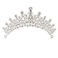 Невеста горный хрусталь хрустальная тиара наследная принцесса королева Свадебное свадебный головной убор выпускного вечера  1TopShop