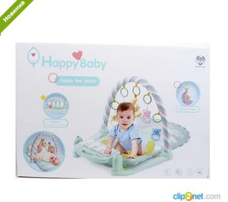 Килимок для немовляти з піаніно, іграшки 5 штук 698-56 ***