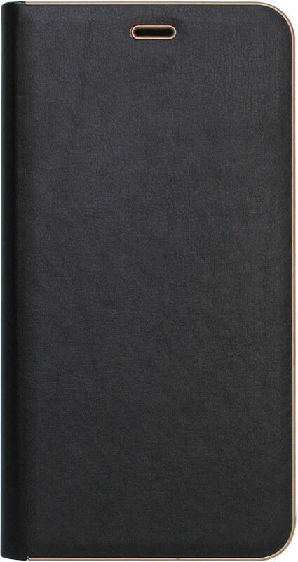 Чехол-книжка SA J610/J6+ (2018) black leather Florence