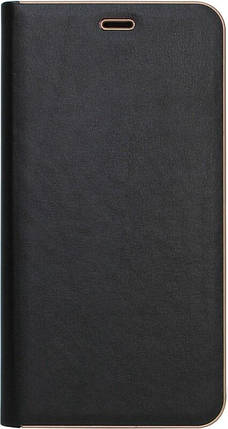 Чехол-книжка для Samsung J6+ (J610) Black leather Florence, фото 2