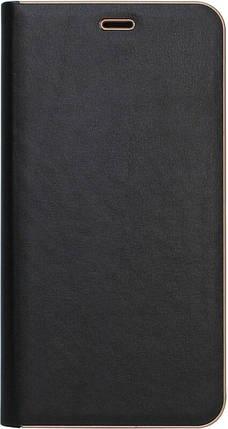 Чехол-книжка SA J610/J6+ (2018) black leather Florence, фото 2