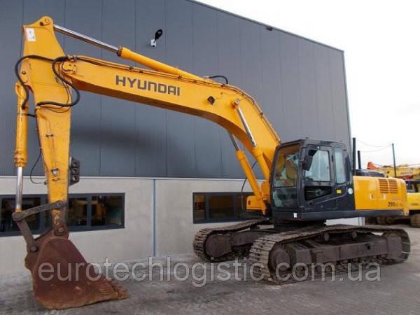 Гусеничный экскаватор Hyundai Robex 290LC-7 A.