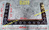 Уголок для чугунной плиты (нержавейка) УН-2