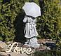 Садовая фигура для сада Девочка с зонтом 30x24x66 cm , фото 4