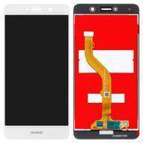 Дисплей (экран) для Huawei Y7 2017 TRT-L21 с сенсором (тачскрином) белый Оригинал