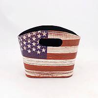Газетница флаг США малая 20 см