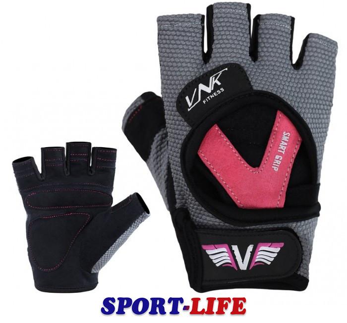 Перчатки для фитнеса женские VNK LADIES PRO, размеры S, M