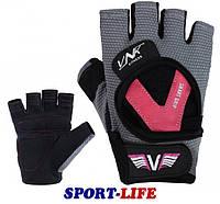 Перчатки для фитнеса женские VNK LADIES PRO, размеры S, M, фото 1