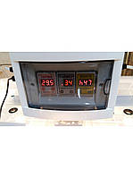 Инкубатор Курочка Ряба в пластиковом корпусе на 56 яиц, автомат, цифровой, вентилятор, 4 лампочки, регулятор в