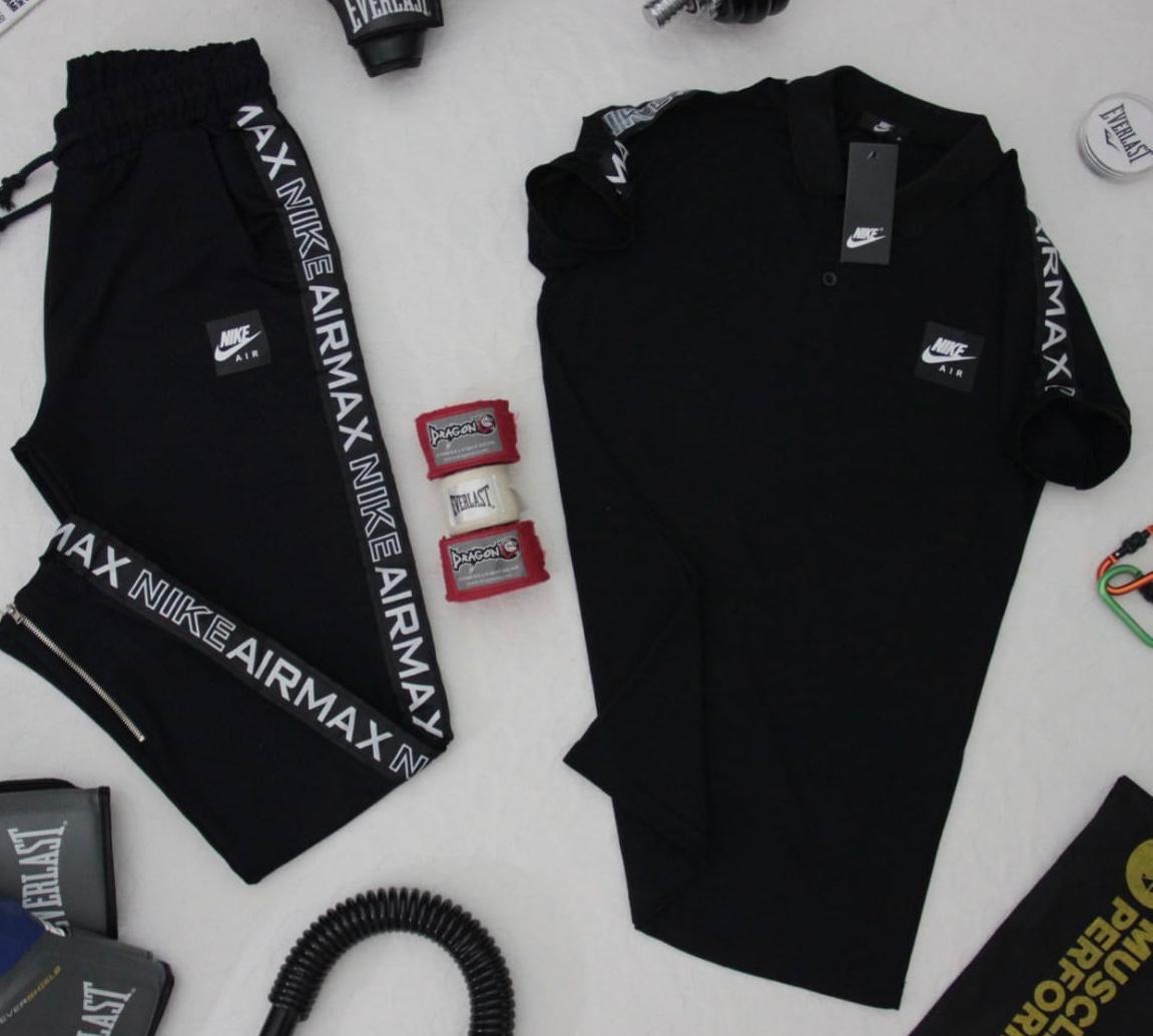 a5918059 Мужской Спортивный Костюм Nike Airmax Черный — в Категории ...