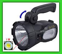 Фонарь ZUKE ZK L 2126 1W LED, фото 1