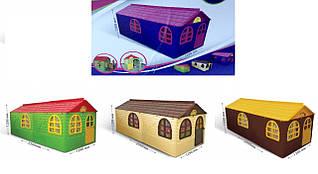 Большой детский домик игровой со шторками 02550/23 Doloni, будиночок долони