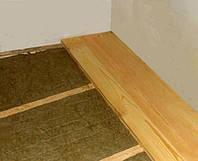Як утеплити підлогу в квартирі на першому поверсі