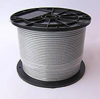 Трос нержавеющий А2, диаметр 4 мм, ГОСТ 3066-80