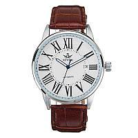 SEWOR Календарь Автоматический Механический Часы Простой стиль Аналог Дисплей Мужские наручные часы - 1TopShop